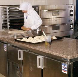Lina Rahhal's hard work and commitment at a bakery increased her family's standard of life.