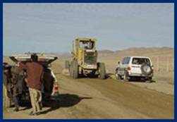 USAID rebuilt a key portion of Afghanistan's national road system which links its two largest cities and economic centers.
