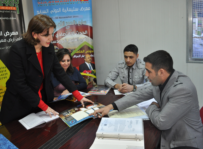 Training Helps Graduate Land Job in Iraq