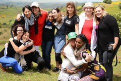 ONE Moms together in Ethiopia. ONE Moms in Ethiopia.