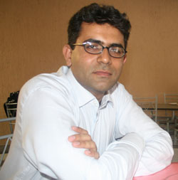 Teerath Mal, an MBA graduate, is one of 33 students who received a USAID scholarship in Pakistan.