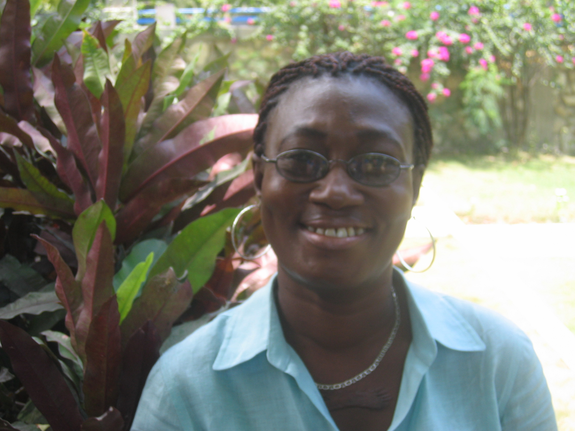 Anne is one of 5,000 people in Haiti receiving anti-retroviral therapy