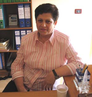 Vera Lesko opened the Vatra Psychosocial Center, Albania's first center to provide assistance to victims of trafficking.