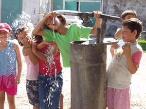 USAID helped Yassy build an irrigation system and repair wells to benefit local citizens