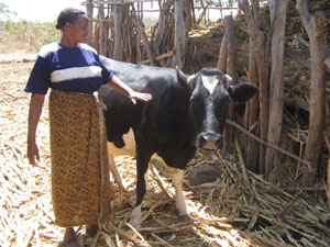 Luki Muia, of Machakos, Kenya, once had barely enough milk to sustain herself and her family.