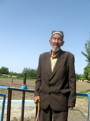 Tursun Jonikulov is one of many farmers in Samarkand Oblast who have benefited from USAID assistance.