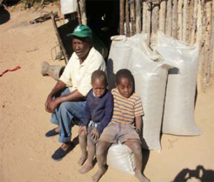 A grant from the USAID-supported Africare has provided critical agricultural input to rural farmers in Zimbabwe.