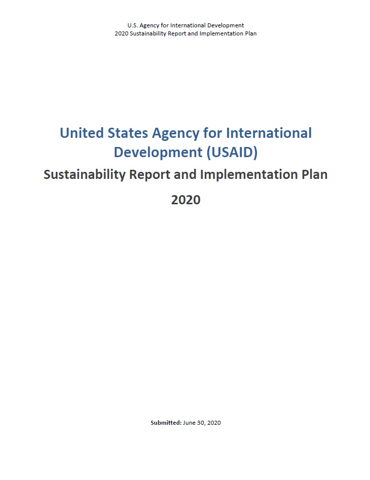 2020 Strategic Sustainability Performance Plan Summary