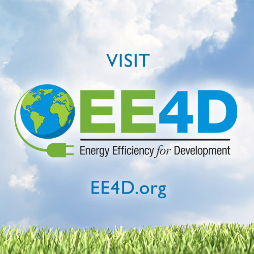 Visit Energy Efficiency for Development at EE4D.org