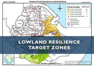 Ethiopia Lowland Resilience Target Zones