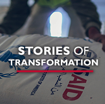 USAID has incredible stories of how it has helped transform the world. Click to view our stories of transformation.