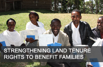 Ethiopia - Strengthening Land Tenure Rights