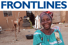 Read the latest issue of FrontLines.