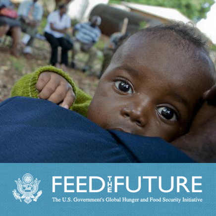 Feed The Future - link to www.feedthefuture.gov