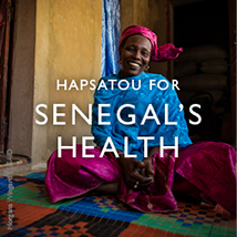Hapsatou for Senegal's Health -  Click to read her story