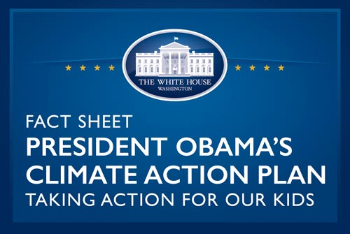 The President's Climate Action Plan Fact Sheet