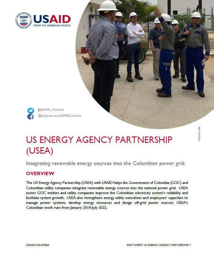 US Energy Agency Partnership (USEA) Fact Sheet