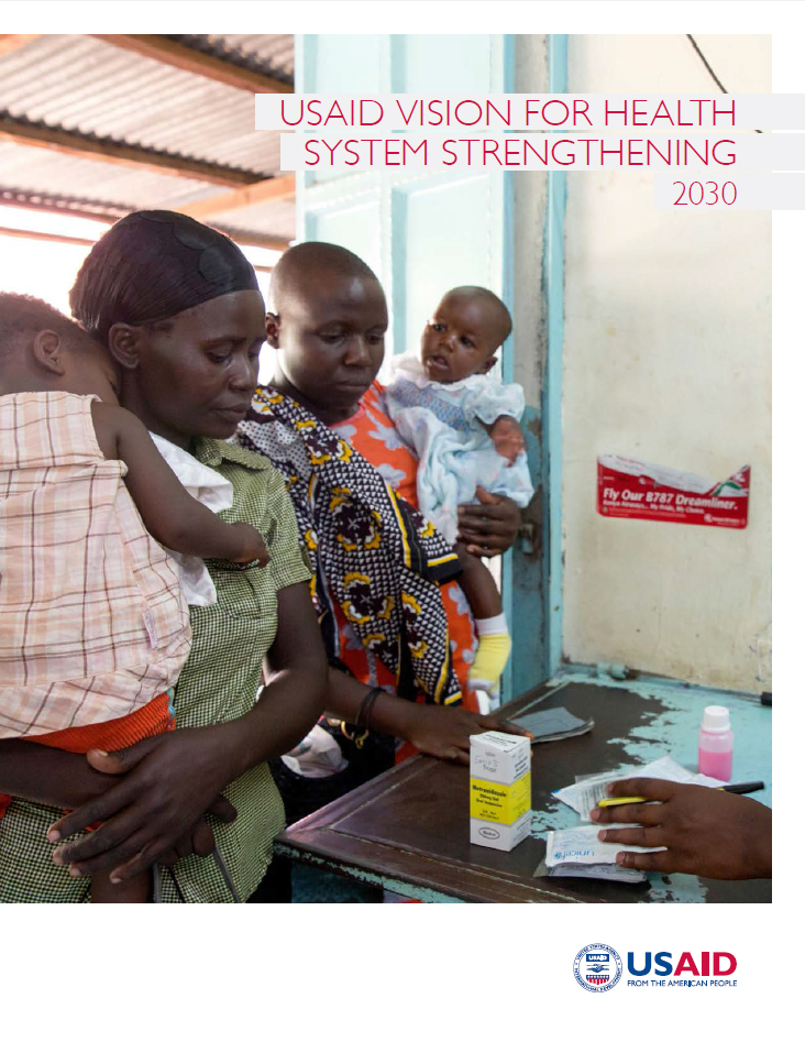 Vision for Health System Strengthening 2030 cover image