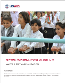 Sector Environmental Guideline: Water Supply and Sanitation (2017)