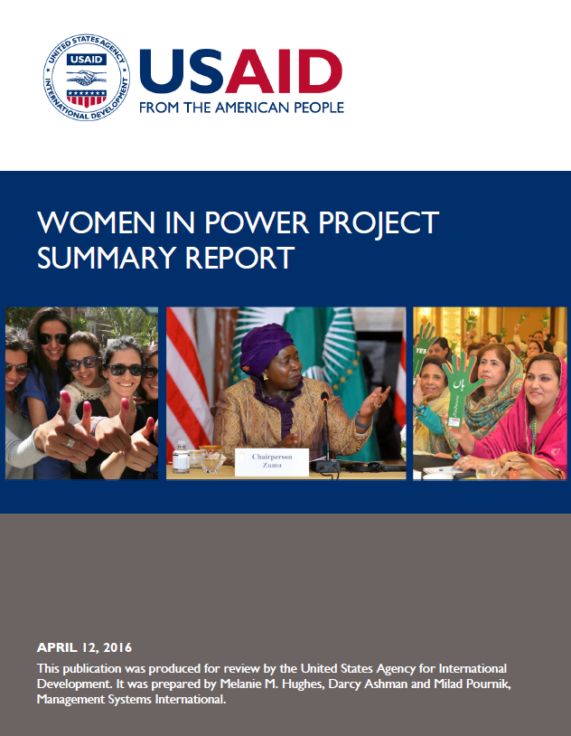Women in Power Summary Report