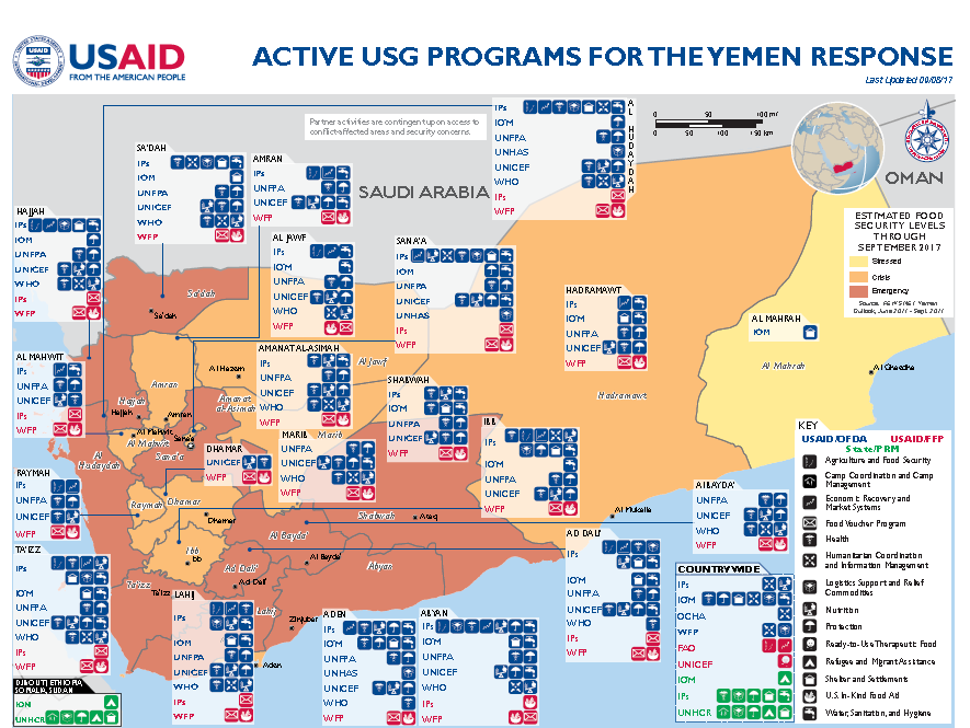 Yemen Complex Emergency Fact Sheet #15 | U.S. Agency for ... on greenland country map, soviet union country map, cyprus country map, kuala lumpur country map, vatican country map, burkina faso country map, u.s. country map, taliban country map, kyrgyzstan country map, republic of georgia country map, botswana country map, uzbekistan country map, mount everest country map, worldwide country map, british virgin islands country map, mesopotamia country map, dominica country map, persian gulf country map, turkmenistan country map, babylonia country map,