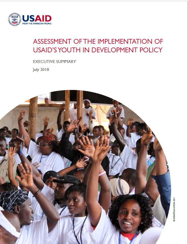 Assessment of the Implementation Of USAID's Youth in Development Policy